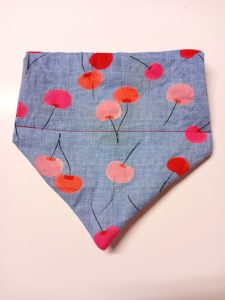 Crafts4Rescues cherry on top bandana